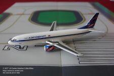Herpa Wings Aeroflot Boeing 737-400 in Old Color Plastic Model in 1:200