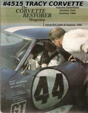 Vol 17 No 1 Summer 1990 The Corvette Restorer Ed Leslie Daytona 1968 L-88