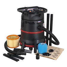 More details for pc35230v sealey vacuum cleaner industrial wet & dry 35ltr 1200w/230v m class