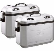 Givi DLM36 Trekker Dolomiti Panniers 2 x Aluminium Side Cases DLM36APACK2 (Pair)