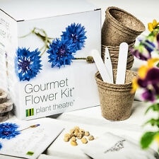 Seed Starter Growing Kit Grow Your Own Gourmet Flower Plant Birthday Gift