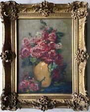 Jane DE MONTCHENU-LAVIROTTE (XIX-XX) Huile sur toile, Format 28,5 x 37 cm