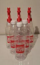 3x Autoglym Trigger Spray Bottle + 3x Flip top dressing bottles 500ml Valeting
