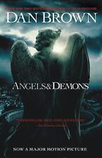 Angels and Demons by Dan Brown (2009, Trade Paperback, Movie Tie-In-m) Mystery