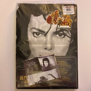 Michael Jackson ORIG 1997 King Of Pop Official Bed Sheets + 2 Pillow Cases NEW