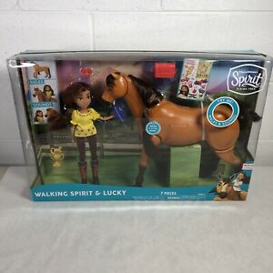 Spirit Riding Free Deluxe Spirit Walking Horse with Lucky HUGE!