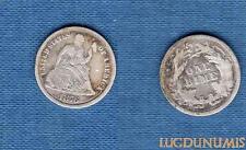 Etats Unis – One Dime 1876 Liberty Seated TB – United States
