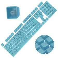 Backlit Double Shot Color Keycaps Cherry MX Mechanical Keyboard Themes Blue 104