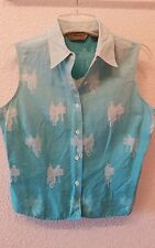women's s Roper country western shirt sleeveless Large