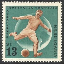 Briefmarken mit Fußball Thema aus Bulgarien