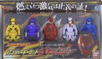 Bandai Legend Sentai / set Kaizoku Sentai Gokaiger Gekiranger / Ranger key set