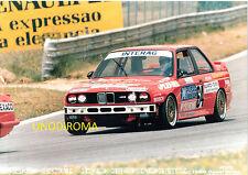 1988 500 KM ESTORIL PORTOGAL EUROTURISMO BMW M3 GRA TEAM UNGHERESE FOTO OR 18x25