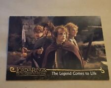 LORD OF THE RINGS - THE FELLOWSHIP OF THE RING -PROMO  CARD P2 HOBBITS (US)