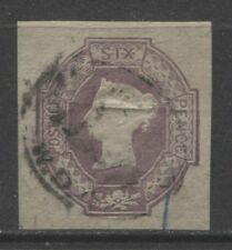 1847 GREAT BRITAIN  6p Queen Victoria, Maltese Cross,  used $ 1295.00