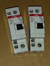 ABB Sicherungsautomat S261 B 10 Leitungsschutzschalter mit Hilfsschalter 1S+1Ö