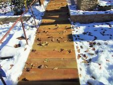 2MoldsTerrace board Concrete Mould Garden Stepping Wooden Stone Path Patio #S10