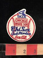 Vtg Coca-Cola CHICAGO WHITE SOX CHI SOX CLUB MEMBER Illinois Baseball Patch 91Q