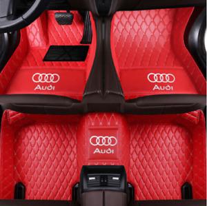 FIT Audi A3 A4 A5 A6 A7 A7 A8 Q3 Q5 Q7 RS5 RS7 S3 S4 S5 S6 S7 TT Car Floor Mats