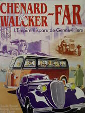 CHENARD & WALCKER - FAR, L'EMPIRE DISPARU DE GENNEVILLIERS - LIVRE D'OCCASION