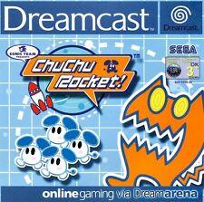 SEGA DREAMCAST GIOCO-ChuChu Rocket! (con imballo originale)