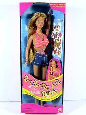 NIB BARBIE DOLL 1998 BUTTERFLY ART