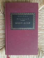 Moby-Dick (Everyman's Library) Melville Herman 1991 Hardcover Red