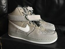 Nike Air Force 1 Hi Supreme - Size 8 - Grey Elephant Print - 345189 011 DS Rare