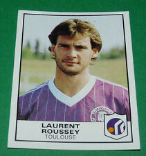 N°357 LAURENT ROUSSEY TFC TOULOUSE FC  PANINI FOOTBALL 84 1983-1984