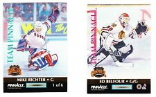 1992-93 Pinnacle Team Pinnacle #1 Mike RICHTER / Ed BELFOUR