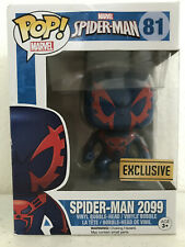 Funko Pop Vinyl Figure in Box #81 Marvel SPIDER-MAN SPIDERMAN 2099 EXCLUSIVE