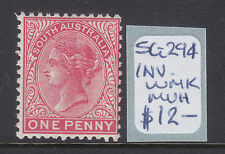 South Australia: 1d Red Side Face Sg 294 Inverted Wmk Muh