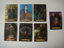 Harry Potter Chocolate Frog Cards Holographic *Lot of 7* Collectible Professors