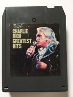 CHARLIE RICH  GREATEST HITS 8 Track