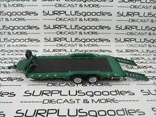 Greenlight 1:64 LOOSE Green Heavy Duty Car Hauler Trailer Tow with Working Ramps