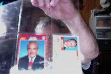 1989 Pro Set Announcer #24 Dick Enberg NBC NMMT