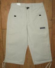 "NUOVO Donna Superdry Wrangler Reef Cargo Combat 3//4 Pantaloncini Jeans Taglia 10 W28/"" Avorio"