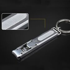 Portable Ultra-thin Mini EDC Key keychain Foldable Nail Clippers Cutter Trimmer