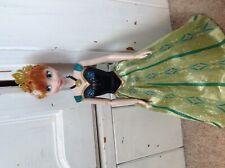 disney Store singing princess Anna doll