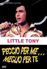 Peggio Per Me ... Meglio Per te DVD NUOVO Little Tony
