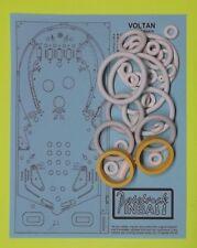 1979 Bally Voltan Escapes Cosmic Doom pinball rubber ring kit