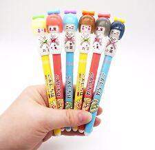 Kawaii Japanese Kokeshi Doll pen! Cute kimono girl novelty pen - Japan pens