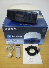 Sony Cineza VPL-HS20 1080i LCD Side Shot Cinema Projector