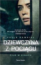 Dziewczyna z pociagu, Paula Hawkins, polish book, polska ksiazka