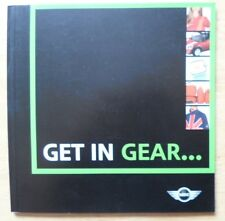 MINI RANGE 2004-06 UK Mkt Accessories Sales Brochure