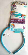 My Little Pony Rainbow Dash 7 Piece Hair Set Clips, Bobbles & Hairband