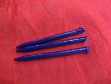 3 x Stifte Stylus Pen Touchpen für Nintendo New 3DS XL - blau -