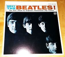 The Beatles Meet the Beatles vinyl Stereo-JAPAN Apple Records With lyrics