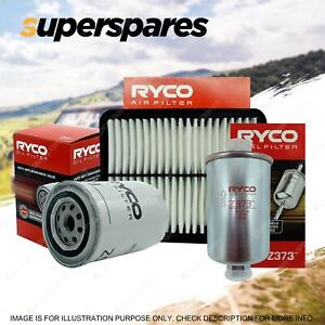 Ryco Oil Air Fuel Filter Service Kit for Ford Territory SX 2WD AWD 06/2004-2005