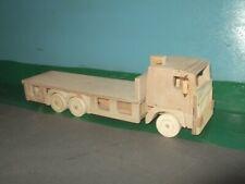 1:32nd Volvo F 6x4 Rigid Flat Wooden Model Truck