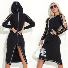By Alina Damenkleid Partykleid Longshirt Minikleid Tunika Kleid 34 - 38 #C841